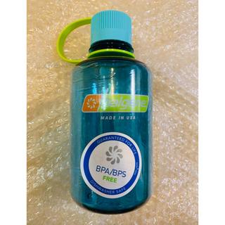 ナルゲン(Nalgene)のナルゲン ナローマウスボトル 500ml セルリアンブルー 新品未使用(登山用品)