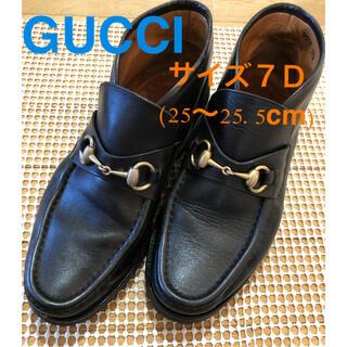 グッチ(Gucci)の【GUCCI】グッチホースビット コマンドソール 7D(ブーツ)