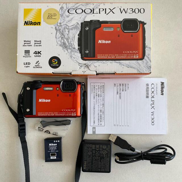 Nikon(ニコン)の⦅しゅう様専用⦆Nicon coolpix w300 スマホ/家電/カメラのカメラ(コンパクトデジタルカメラ)の商品写真