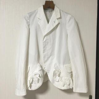 COMME des GARCONS - ☆コムコム☆ホワイトジャケット