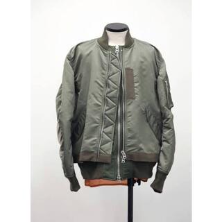 sacai - sacai 20ss FABRIC COMBO MA-1 ブルゾン ジャケット