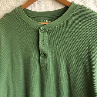 エルエルビーン(L.L.Bean)のエルエルビーン ヘンリーネック サーマル ロンT L.L.Bean(Tシャツ/カットソー(七分/長袖))