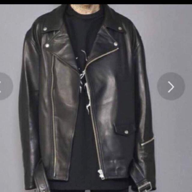 Balenciaga(バレンシアガ)の【廃盤希少】sub-age ダブルライダース  レザージャケット メンズのジャケット/アウター(ライダースジャケット)の商品写真