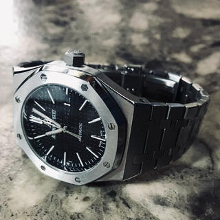 メンズ腕時計/APタイプ/黒文字盤/ロイヤルオーク/オマージュ