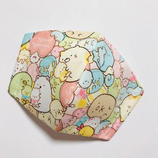 18-3 ピンクハート 子ども立体インナーマスク(外出用品)