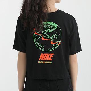 ナイキ(NIKE)の【新品】NIKE WMNS WORLDWIDE 2 CROP TEE(Tシャツ(半袖/袖なし))