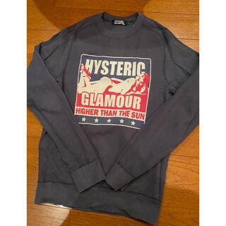 HYSTERIC GLAMOUR - ヒステリックグラマー トレーナー スウェット グレー tee Tシャツ