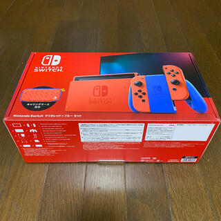 Nintendo Switch - 保証期間中 Nintendo Switch 本体 マリオレッドxブルーセット