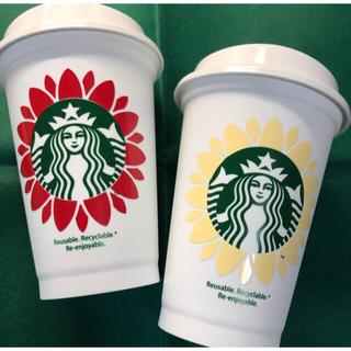 Starbucks Coffee - ●フラワー 名入れ● Starbucks リユーザブルカップ カスタム