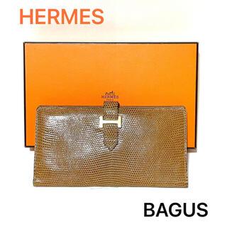 エルメス(Hermes)の☆美品☆HERMES / エルメス ベアン 刻印◻︎A リザード(財布)