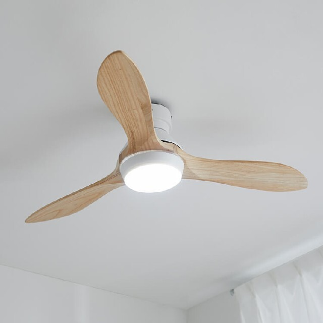 LOWYA シーリングファンライト  インテリア/住まい/日用品のライト/照明/LED(天井照明)の商品写真
