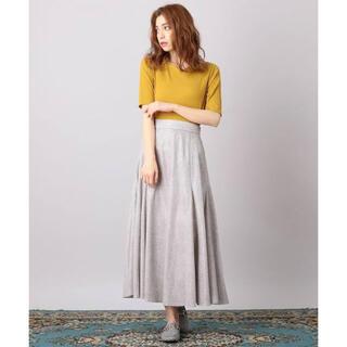 ミーア(MIIA)のmiia キラキラAラインスカート(未使用品)(ロングスカート)