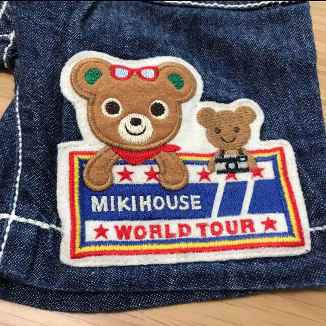 mikihouse(ミキハウス)のご専用♡ 美品 ミキハウス デニム豪華パンツ 80 キッズ/ベビー/マタニティのベビー服(~85cm)(パンツ)の商品写真