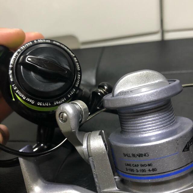 SHIMANO(シマノ)のスピニングリールセット スポーツ/アウトドアのフィッシング(リール)の商品写真