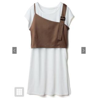 GRL - 新品★GRL アシンメトリーデザインベストXTシャツセット