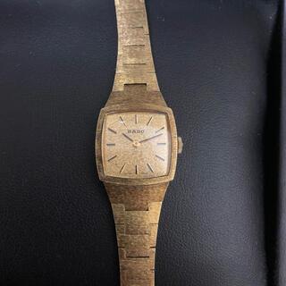 ラドー(RADO)の希少 RADO 手巻き 腕時計 ゴールド(腕時計)