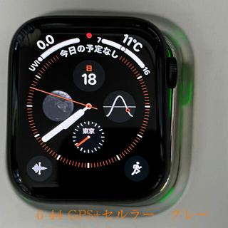 Apple Watch - アップルウオッチ6-44 グレー GPS+セルラー