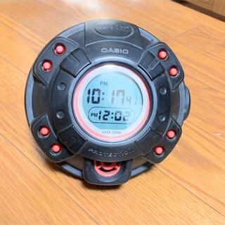 カシオ(CASIO)のCASIO G-SHOCK 目覚し時計 GQ-200 激レア希少(置時計)