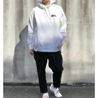 sacai - 新品 sacai Nike コラボ パーカー ma-1 ドッキング