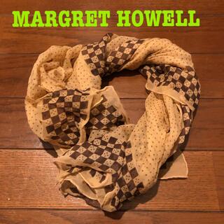 マーガレットハウエル(MARGARET HOWELL)のMARGRET HOWELL スカーフ(バンダナ/スカーフ)