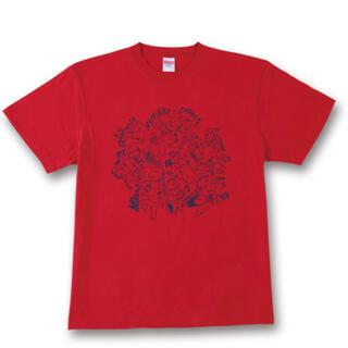 ヒロシマトウヨウカープ(広島東洋カープ)のカープ 選手イラストTシャツ(レッド)(応援グッズ)