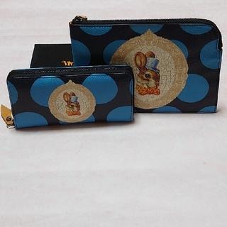 Vivienne Westwood - 【未使用】 BUNNY バニー長財布&クラッチバッグセット