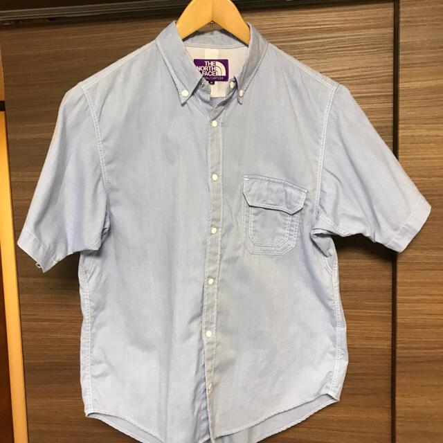 THE NORTH FACE(ザノースフェイス)のノースフェイス パープルレーベル 半袖BDシャツ メンズのトップス(シャツ)の商品写真