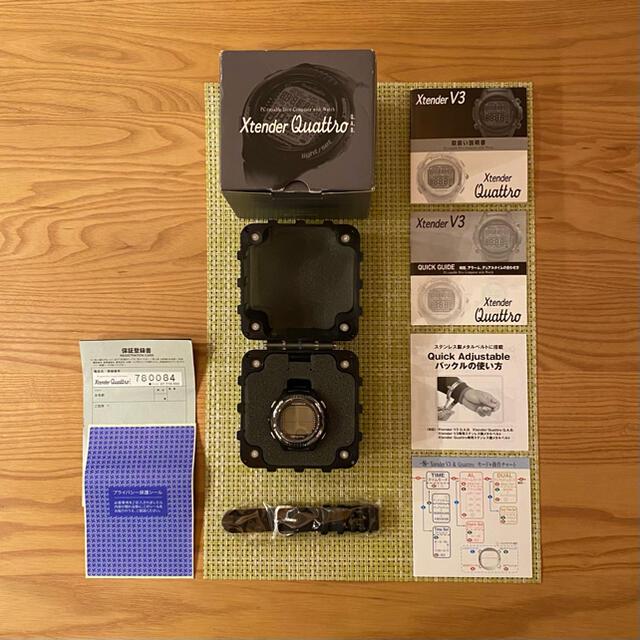 SCUBAPRO(スキューバプロ)のスキューバプロ Xtender Quattro V3 スポーツ/アウトドアのスポーツ/アウトドア その他(マリン/スイミング)の商品写真