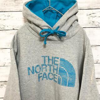 THE NORTH FACE - 【正規品】ノースフェイス パーカー M フーディ 春 プルオーバー グレー
