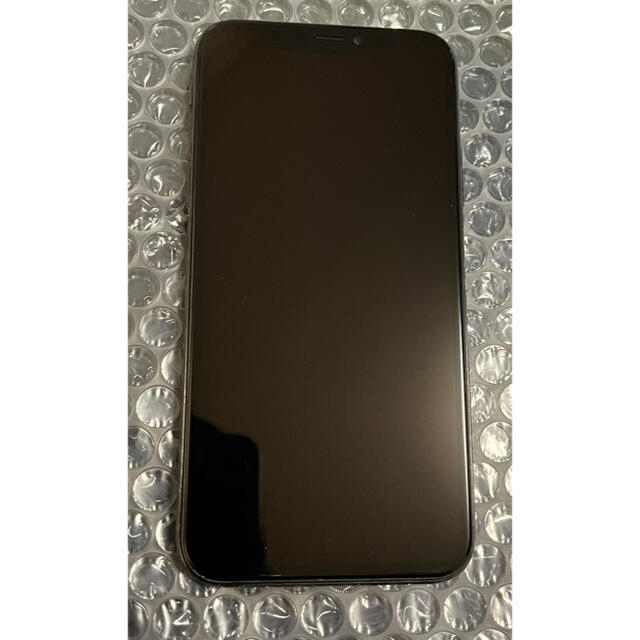 Apple(アップル)のiPhone X 256G ブラック新品 SIMフリー スマホ/家電/カメラのスマートフォン/携帯電話(スマートフォン本体)の商品写真