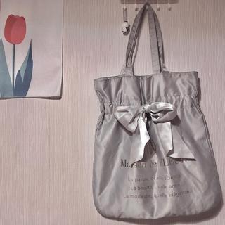 Maison de FLEUR - メゾンドフルール バッグ リボン 水色