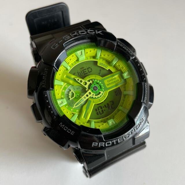 G-SHOCK(ジーショック)のCASIO G-SHOCK GA110B メンズの時計(腕時計(デジタル))の商品写真