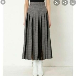 LE CIEL BLEU - IRENEレーススカート