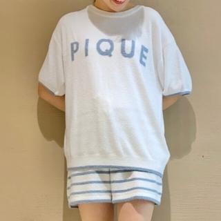gelato pique - 完売品ジェラートピケ♡'スムーズィー'ロゴジャガードセットアップ グリーン