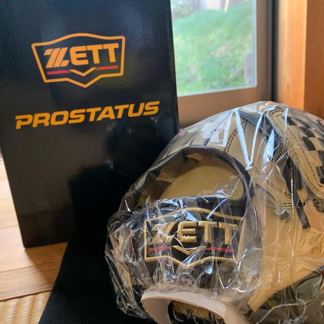 ZETT(ゼット)のZETTプロステイタス源田モデル軟式グローブ パステルブラウン スポーツ/アウトドアの野球(グローブ)の商品写真