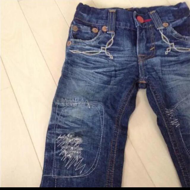 EDWIN(エドウィン)のエドウィン EDWIN BLUE TRIP デニムパンツ 80 キッズ/ベビー/マタニティのベビー服(~85cm)(パンツ)の商品写真