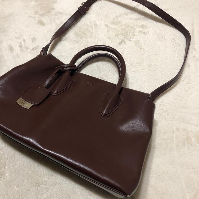 snidel(スナイデル)のスナイデル スリムハンドバッグ ショルダー ハンド レディースのバッグ(ハンドバッグ)の商品写真