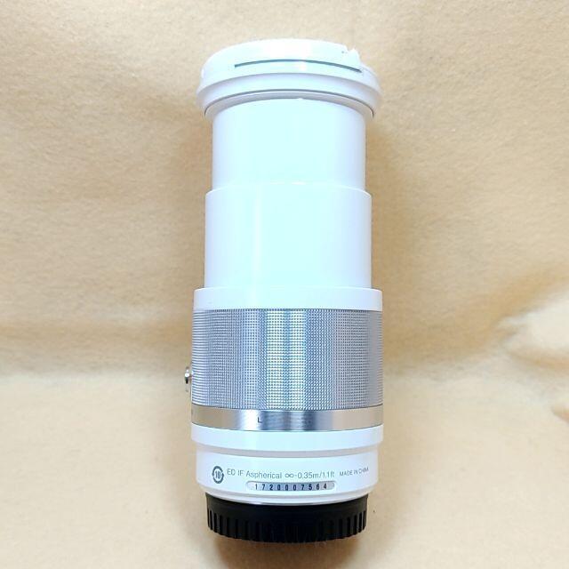 Nikon(ニコン)の高倍率ズームレンズ Nikon 1 NIKKOR 10-100mm ホワイト スマホ/家電/カメラのカメラ(レンズ(ズーム))の商品写真