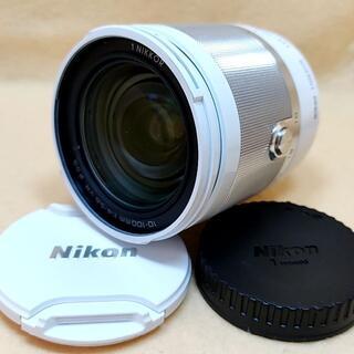 Nikon - 高倍率ズームレンズ Nikon 1 NIKKOR 10-100mm ホワイト