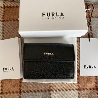 Furla - フルラ 折り財布 黒 ブラック 三つ折り