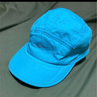 ナイキ(NIKE)の【送料込み】NIKE キャップ 水色 ランニング 帽子(その他)
