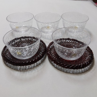 タチキチ(たち吉)のたち吉 雪あかり 冷茶椀(グラス/カップ)