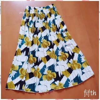 fifth - 《fifth》花柄 フラワー プリーツロングスカート F