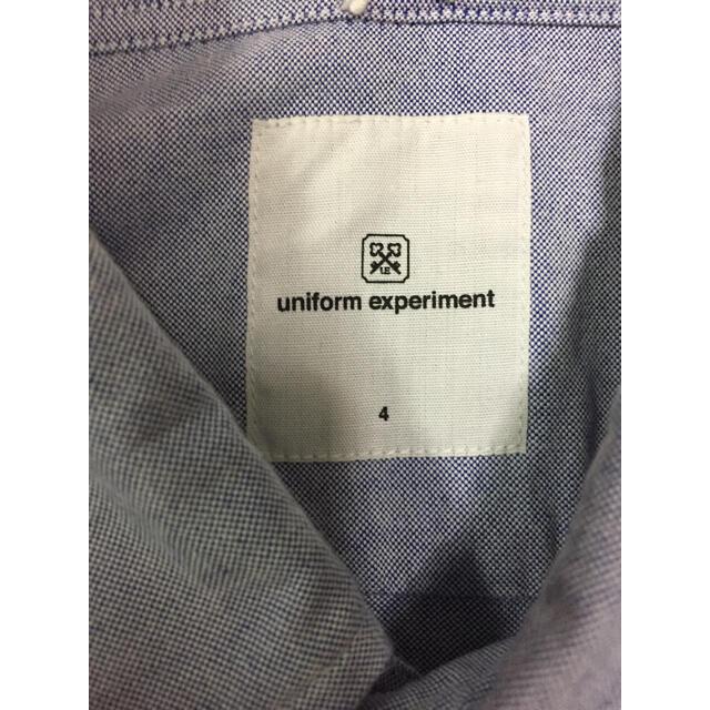 uniform experiment(ユニフォームエクスペリメント)のuniform experiment 長袖シャツ 4  XL メンズのトップス(シャツ)の商品写真