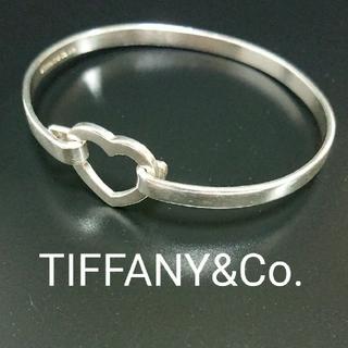 Tiffany & Co. - 中古 ティファニー オープンハートバングル