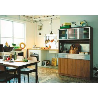unico - unico ウニコ STRADA キッチンボード 食器棚(送料込み)