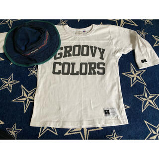 Groovy Colors - GROOVY COLORS× RUSSELL ATHLETIC Tシャツ帽子