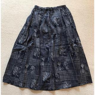 ピュアルセシン(pual ce cin)のピュアルセシン⭐︎リネン混ギャザースカート(ロングスカート)
