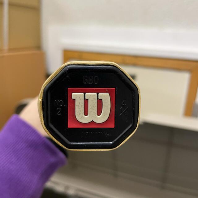 wilson(ウィルソン)の美品ハイパープロスタッフ97  リミテッド2000!グリップ2 スポーツ/アウトドアのテニス(ラケット)の商品写真