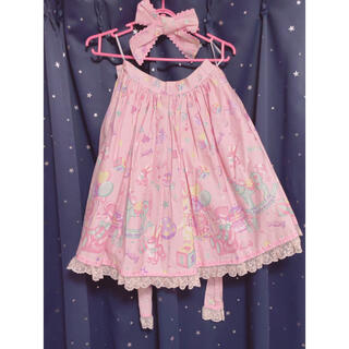 Angelic Pretty -  TOY PARADE スカート Angelic Pretty
